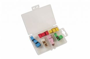 Connect 30721 18 Piece Assorted J Type Low Profile Fuses